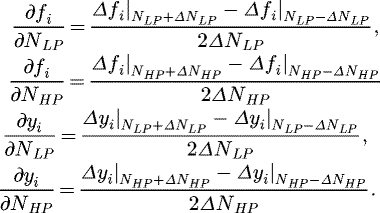 Analyzing different numerical linearization methods for the dynamic